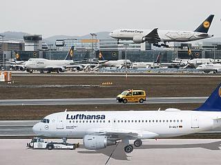 Lufthansa: jelentősen csökkentik az aktív flottát