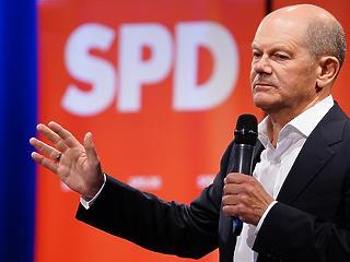 Német választás: előnyben a szociáldemokrata jelölt