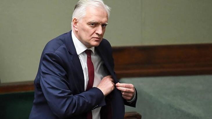 Jaroslaw Gowin lengyel miniszterelnök-helyettes. Fotó: naukawpolsce.pap.pl