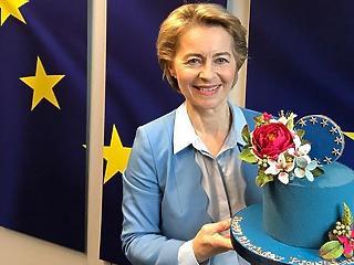 A nap képe: édes meglepetést kapott von der Leyen a születésnapjára
