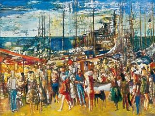 300 millió forintért venne festményeket az MNB