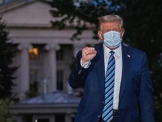 Újabb negatív korona-tesztet produkált Donald Trump