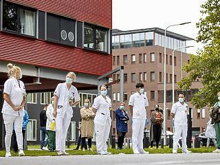 Omladozik az egészségügyi ellátás Hollandiában a vírusválság miatt