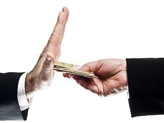A magyar cégvezetők szerint gyakori jelenség a korrupció