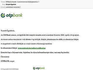 Ha ilyen levelet kapsz a bankodtól, ne nyisd meg!
