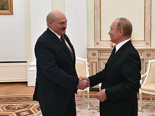 Putyin és Lukasenka tulajdonképpen összeolvasztotta Oroszországot és Fehéroroszországot