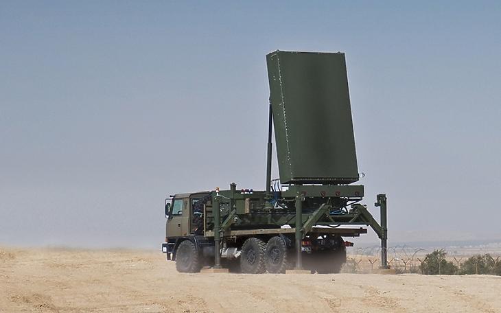 Az ELM-2084 Multi Misison Radar - Forrás: iai.co.il