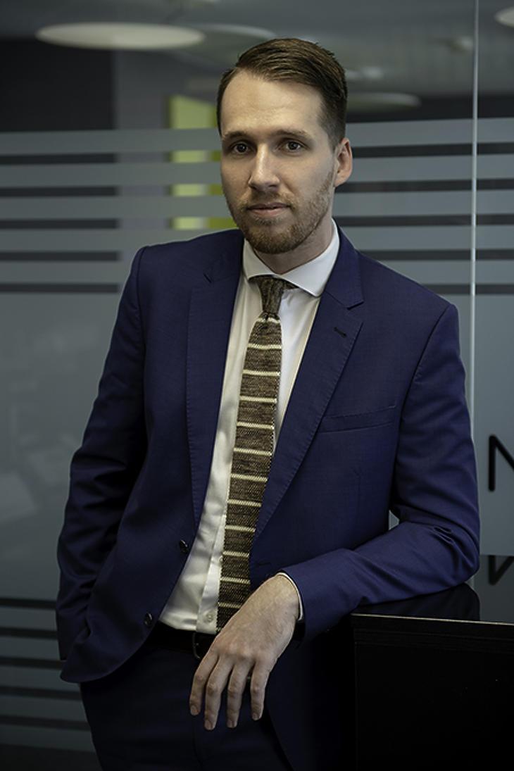 Dr. Sebők Róbert, a bpv JÁDI NÉMETH Ügyvédi Iroda ügyvédjelölt munkatársa
