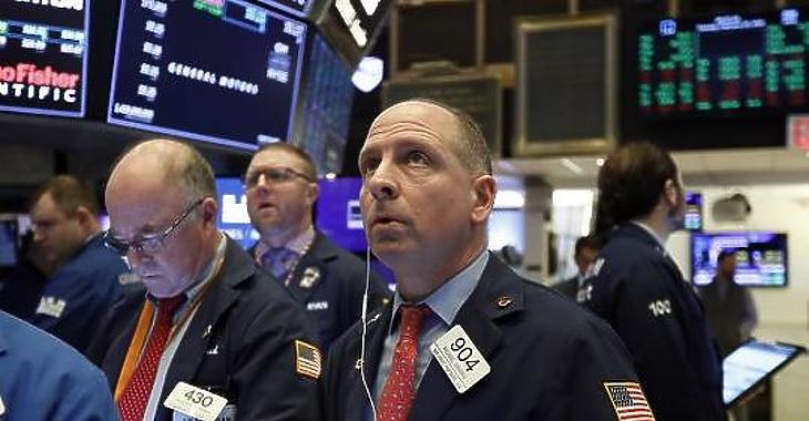 Elégedetten figyelhették a kereskedők a monitorokat. Fotó: Wall Street Journal