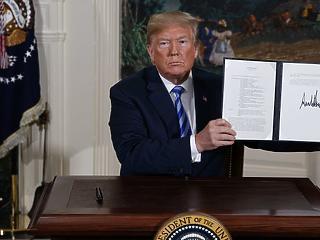 Szítja a tüzet: Trump még egyet odaszúrt Iránnak