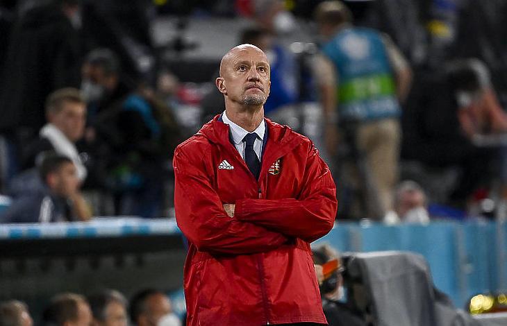 Marco Rossi szövetségi kapitány volt a labdarúgó Európa-bajnokságon a magyar válogatott egyik legerősebb eleme (Fotó: MTI/Kovács Tamás)