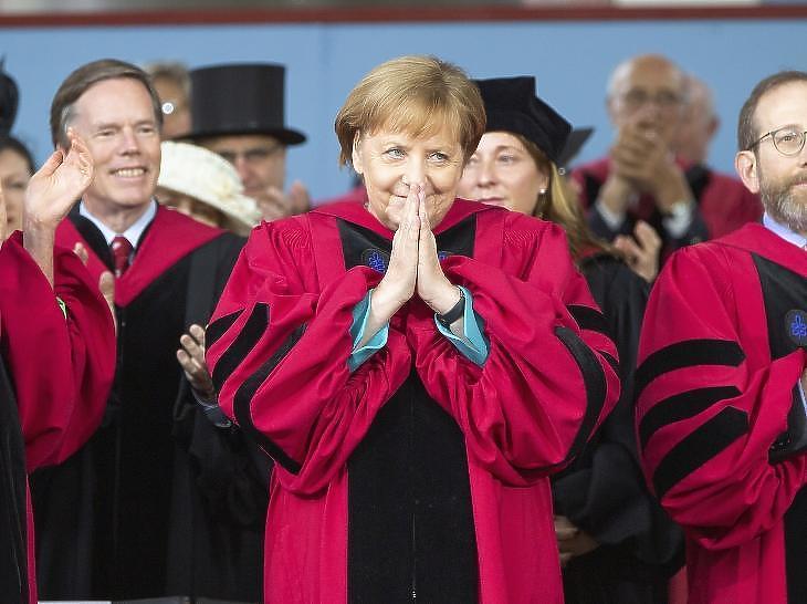 Angela Merkel 2005 óta van hatalmon, ötödszörre már nem fut neki a kancellárságnak. (fotó: EPA)