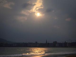 A nap képe: ilyen gyönyörű a napkelte Baszkföldön