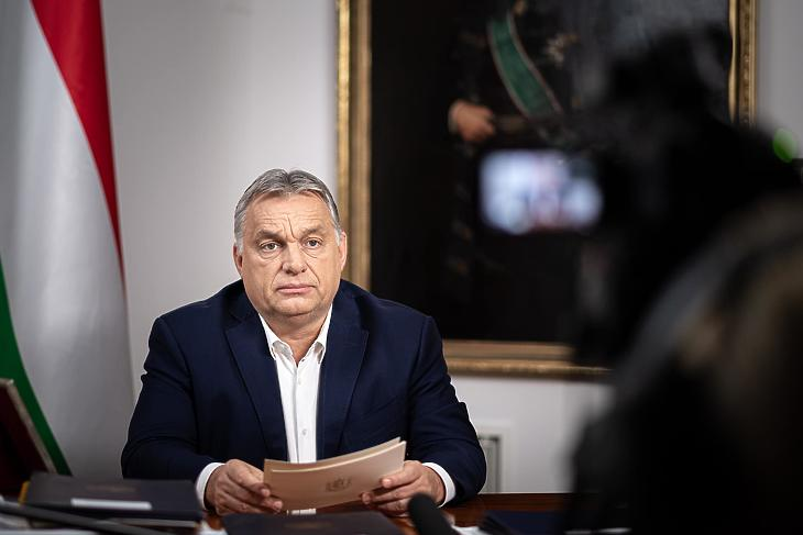 Orbán Viktor kormányfő bejelent Fotó: Orbán Viktor /Facebook