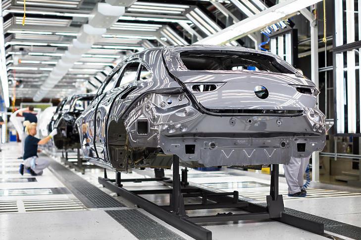 Kényszerpihenőt rendeltek el a Mercedes-gyárban  (Forrás: Daimler AG)