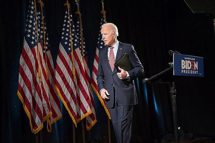 Joe Biden. Fotó: EPA/TRACIE VAN AUKEN