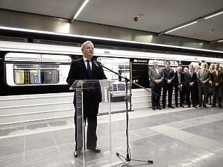 Átadják a 3-as metró felújított szakaszát