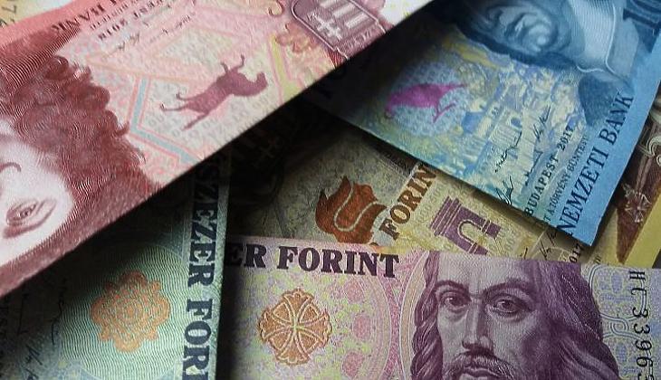 Forintbankjegyek (E. J.)