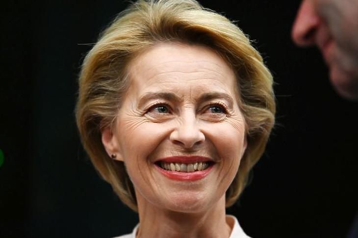 Ursula von der Leyen (Forrás: EPA)