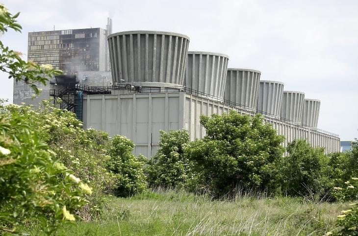 A Nitrogénművek Zrt.gyára a Veszprém megyei Pétfürdő határában. MTI Fotó: Nagy Lajos