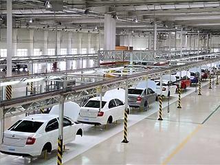 Óriásit zuhant a cseh személyautó-gyártás