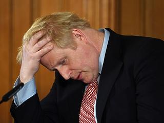 Koronavírusos lett Boris Johnson