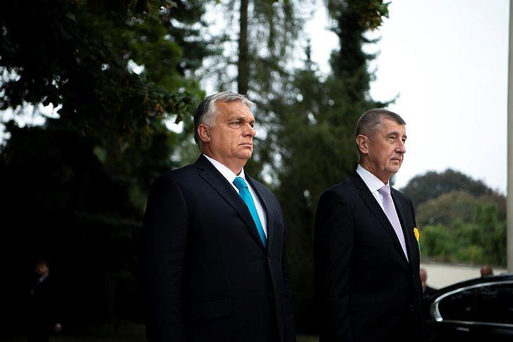 Orbán Viktor nagyon örülne, ha Babis hatalomban maradna (fotó: MTI)