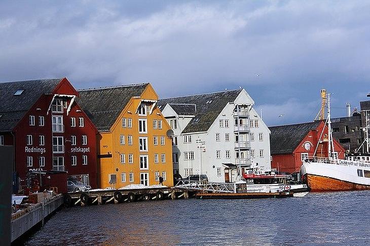 Norvég házak (Pixabay)