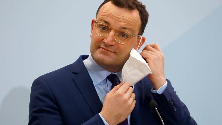 Jens Spahn német egészségügyi miniszter. Fotó: spiegel.de