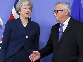 A nap képe: megint szemmel verték Junckert Brüsszelben
