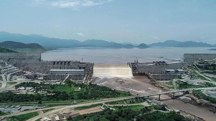 A Grand Ethiopian Renaissance Dam. Fotó: Middle East Online