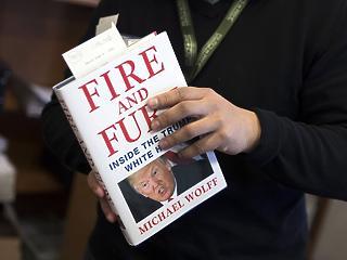 Egy zseni vagyok – nem akárhogy válaszolt Trump a róla szóló könyvre