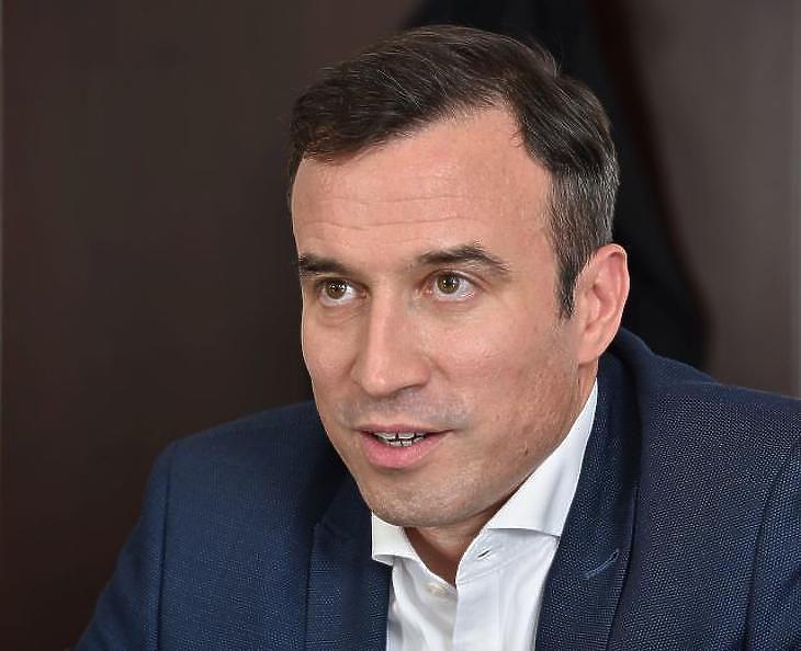 Orbán Gábor szerint a vállalat történelmi sikert ért el az USA-ban (Fotó: Bánkuti András)