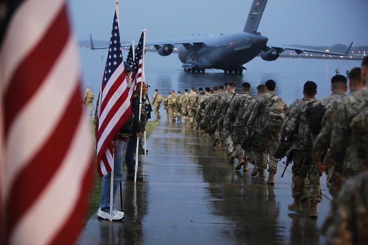Amerikai katonák. (Fotó: AP)
