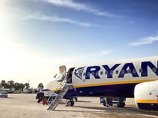 Büntetett a főváros: hibát vétett a Ryanair