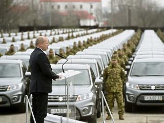 Biztonságban a haza – új autókat kapott a Honvédség