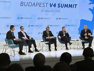 Rendkívüli V4-es csúcs lesz holnap Budapesten