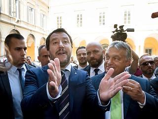 A nagy sz.rt - keményen beszóltak Orbán Viktor olasz barátjának