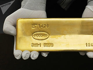 Oroszország tele van arannyal