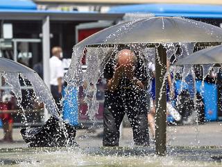 Berobban a kánikula: brutális meleg napok elé nézünk