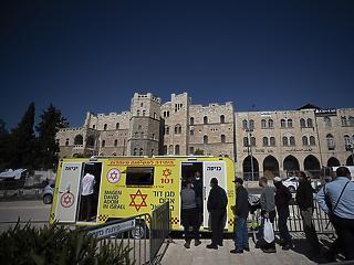Már 419 izraeli van kórházban koronával, közülük 221 súlyos beteg