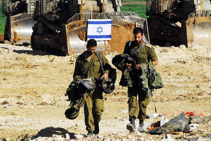 Izraeli katonák a gázai övezetben. Fotó: depositphotos
