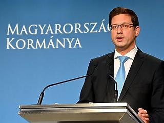 Gulyás Gergely: Magyarország túl van a második hullám csúcspontján