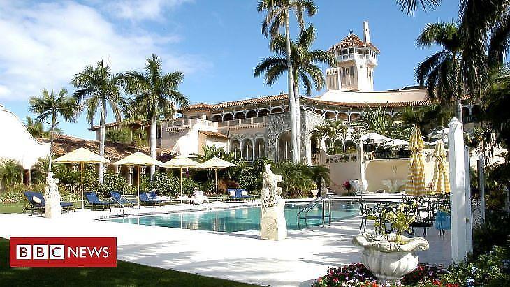Mar-a-lago, a szuper luxus birtok (forrás: BBC)