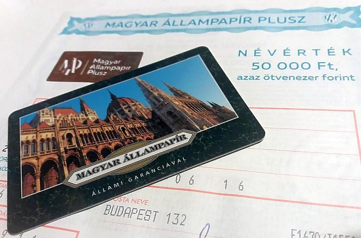 MÁP Plusz fizikai államkötvény postáról és az Államkincstár kártyája (E. J.)