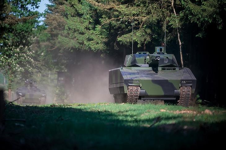 Egy Lynx KF41 harcjármű. (Forrás: rheinmetall-defence.com)