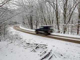 Szél és hófúvás közelít: nem lesz kegyes hozzánk az időjárás