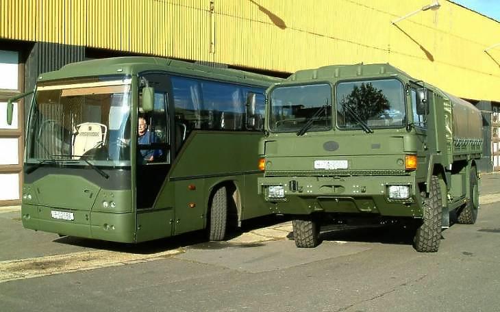 Rába-járművek 2007-ből (fotó: Rába)