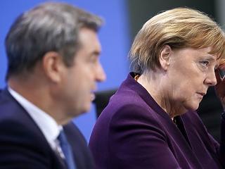 Vírus: lezárta a határokat az EU, Merkel a gazdaságot félti