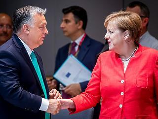 Felfortyant az EP, mert a németek engednének Orbán Viktornak